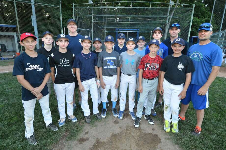 Hour Photo/Alex von Kleydorff. Wilton Little League team
