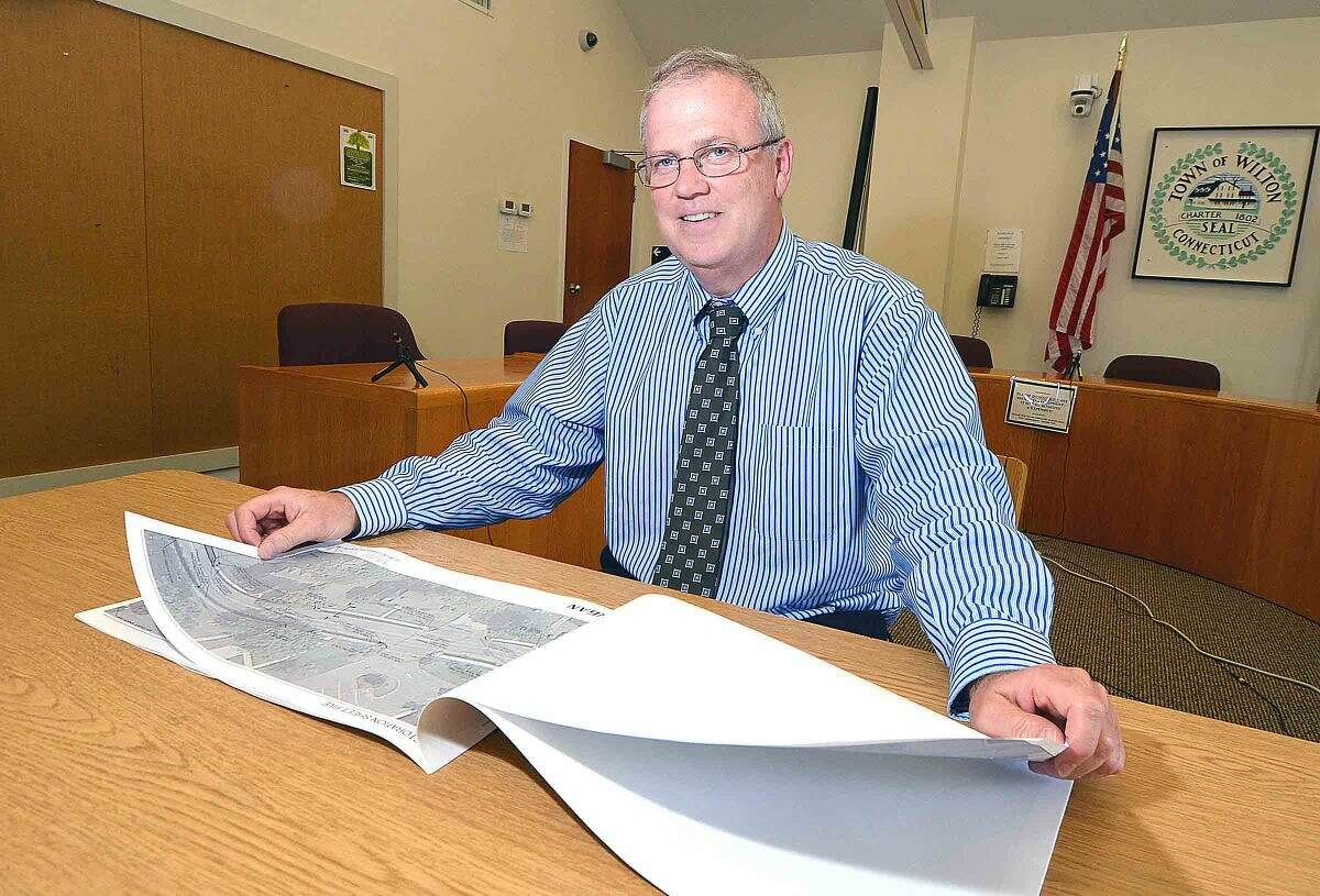 Bob Nerney, Wilton's director of planning and land use management, works quietly behind the scenes on land-use issues.