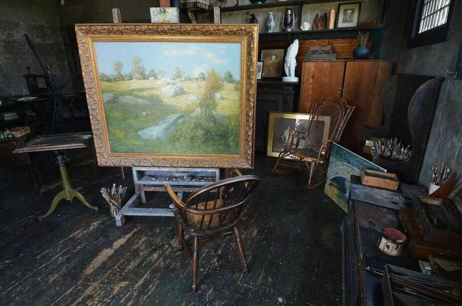 Hour Photo/Alex von Kleydorff Weir Farm National Historic Site is set for Grand Opening Weekend May 24, 25 after a multi year restoration to the studios and the home of American Impressionist Julian Alden Weir in Branchville Ct.
