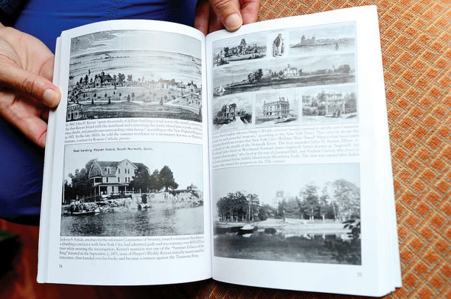 "Hour photo / Erik Trautmann Lisa Wilson Grant has a newly published book ""Norwalk"", a pictoral history of the city."