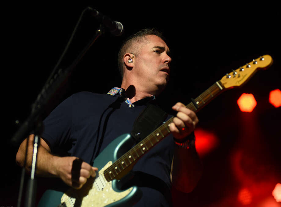 Hour photo/John Nash - The Barenaked Ladies played at Mohegan Sun Arena on Saturday night.