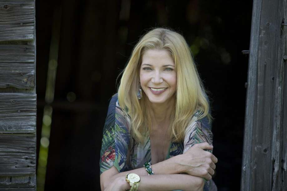 Candace Bushnell at home in Roxbury in June 2010.