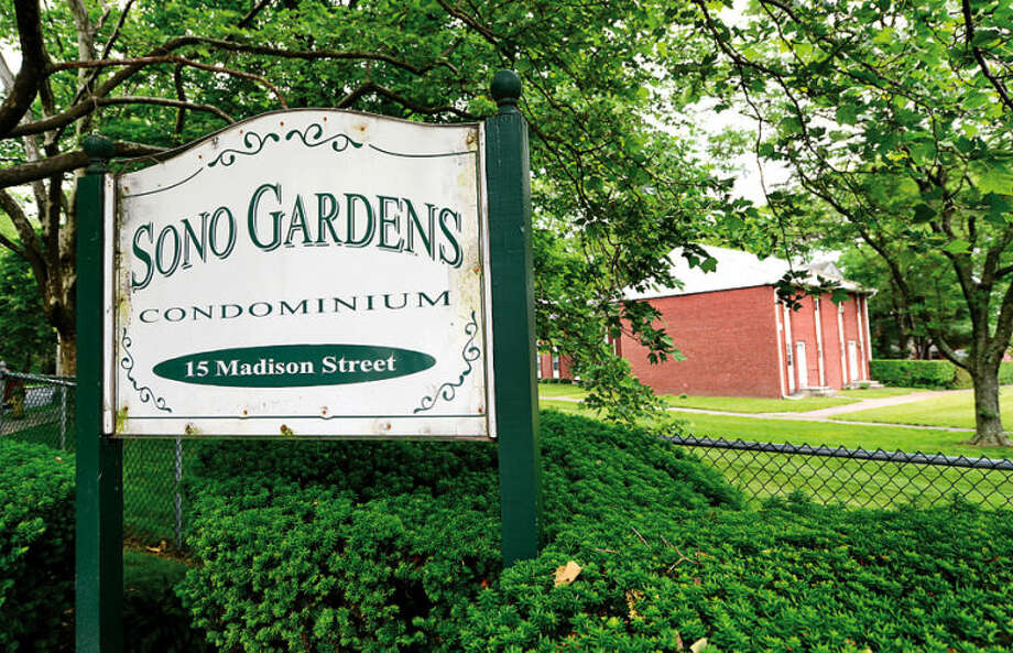 Hour photo / Erik Trautmann The Common Council's Planning Committee recommends amending deed restrictions for SoNo Gardens to permit higher incomes.
