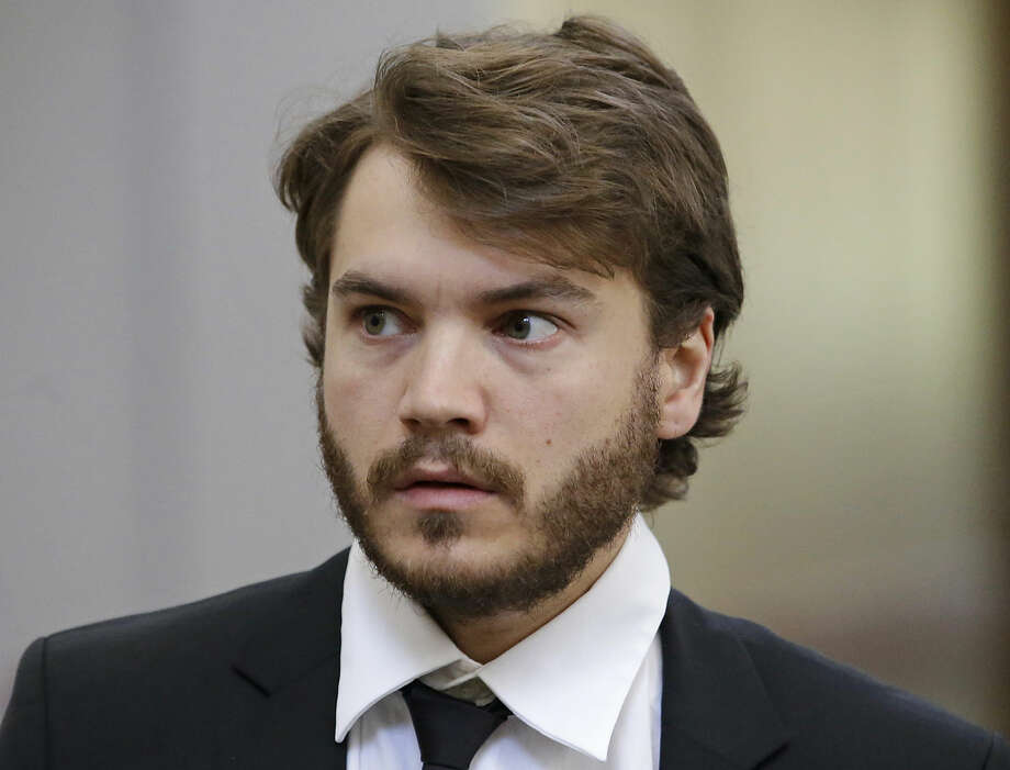 """FILE - In this June 8, 2015 file photo, actor Emile Hirsch arrives for court in Park City, Utah. Public records obtained by The Associated Press show that a studio executive described an incident with Hirsch during the Sundance Film Festival as """"insanely painful and absolutely terrifying."""" Authorities say Hirsch assaulted the executive, Daniele Bernfeld, on Jan. 25, 2015, at a night club in Park City. Hirsch says he didn't remember exactly what happened, saying only that she came at him and he was defending himself. (AP Photo/Rick Bowmer, File)"""
