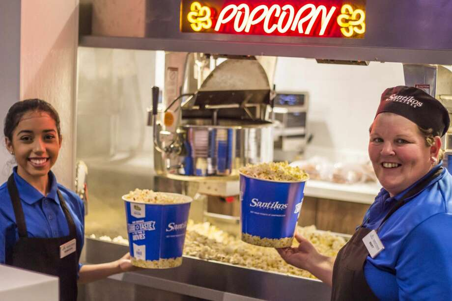 Santikosis buttering up customers all day on National Popcorn Day, Jan. 19, with $1 bags of the snack at all locations. The $1 deal applies to regular-size bags. Large bags of popcorn are $2. Photo: By Richard Canfield For MySA.com