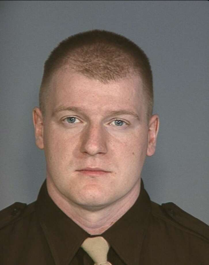 This photo provided by the Las Vegas Metropolitan Police Department shows Officer Igor Soldo. Two suspects shot and killed two police officers at a Las Vegas eatery before fatally shooting a third person and killing themselves inside a nearby Walmart, authorities said. (AP Photo/Las Vegas Metropolitan Police Department)