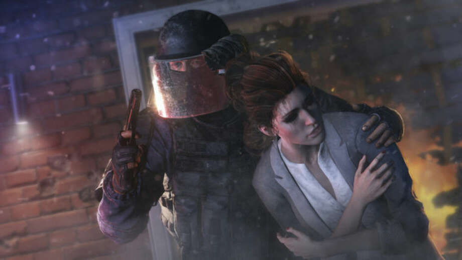"This photo provided by Ubisoft shows a scene from the video game, ""Tom Clancy's Rainbow Six: Siege."" At last week's Electronic Entertainment Expo, video game developers hyped upcoming titles featuring assassins, super-soldiers, vigilantes and demon hunters. The lack of female protagonists at E3 highlighted an ongoing issue that continues to haunt the video game industry. (AP Photo/Ubisoft)"