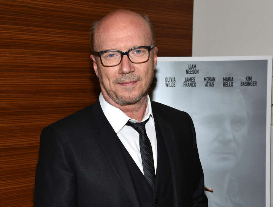"""FILE - This June 9, 2014 file photo shows director Paul Haggis at the Los Angeles Premiere of his film """"Third Person"""" in Los Angeles. The film stars Liam Neeson and Maria Bello. (Photo by John Shearer/Invision/AP, File)"""