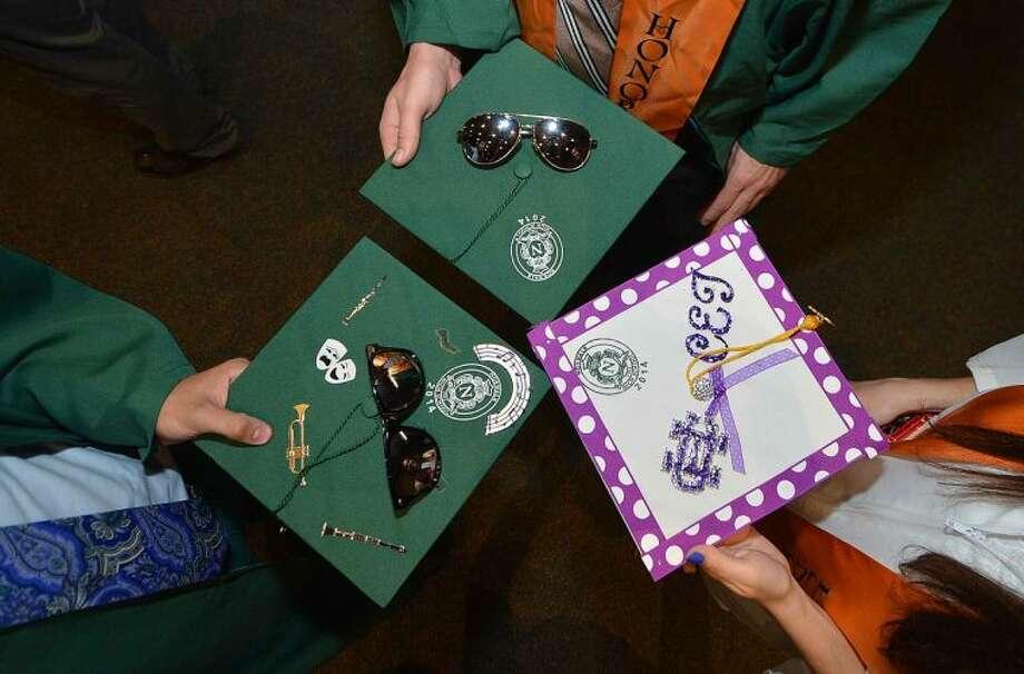 Hour Photo/Alex von Kleydorff Graduation for Norwalk High School Class of 2014