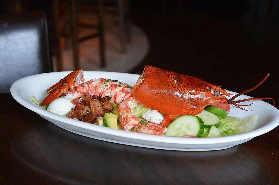 Lobster cobb salad at the Hudson Grille on Bedford Street.