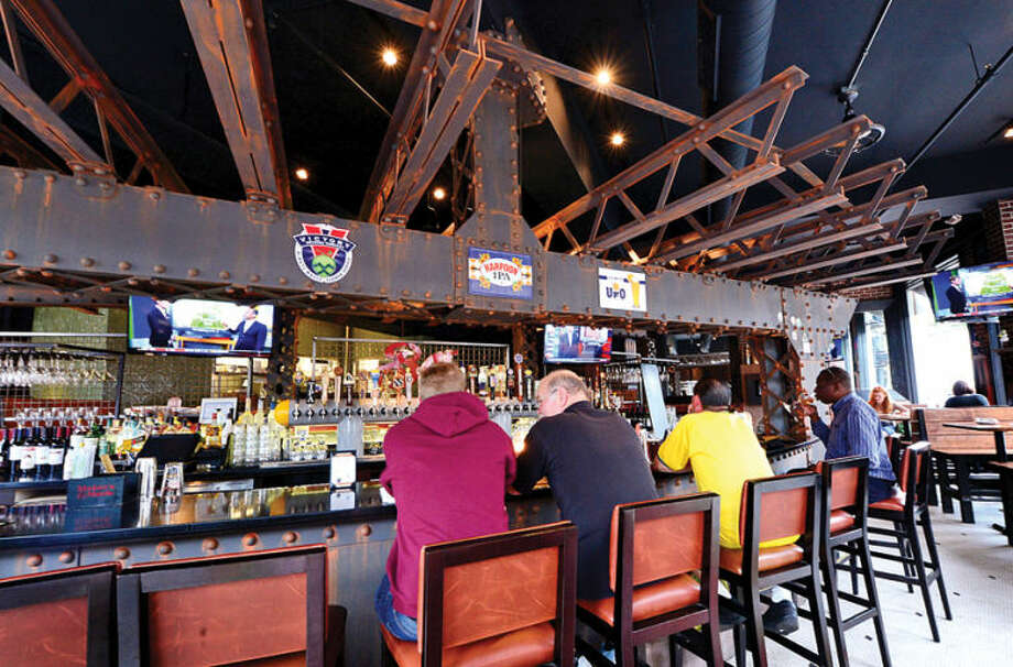 Hour photo / Erik Trautmann Local Kitchen/ Craft Beer Bar at 68 Washington Street in SoNo. Local is a new craft beer bar in SoNo offering 8 cask beers and dozens more local craft beers in bottle and on tap.