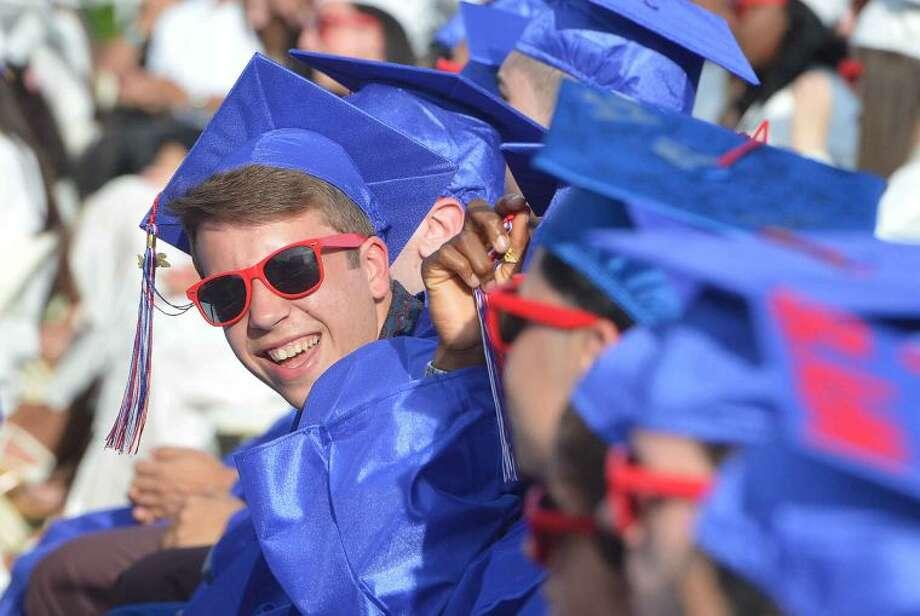 Hour Photo/Alex von Kleydorff Brien McMahon Class of 2014 Graduation