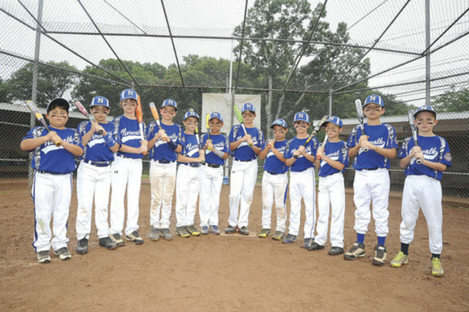 Hour photo/Matthew VinciThe Norwalk 9-year-old Cal Ripken team is heading to the state tournament, starting on Saturday.