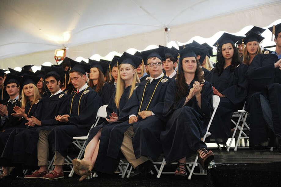 Members of the Weston High School class of 2014. Hour photo/Matthew Vinci