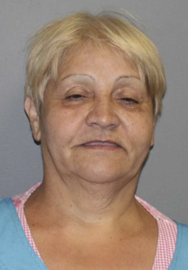 Paula Sanchez, 57, of 701 Washington Village, was charged with risk of injury to a minor, second-degree breach of peace and second-degree threatening. Photo by Norwalk Police Department