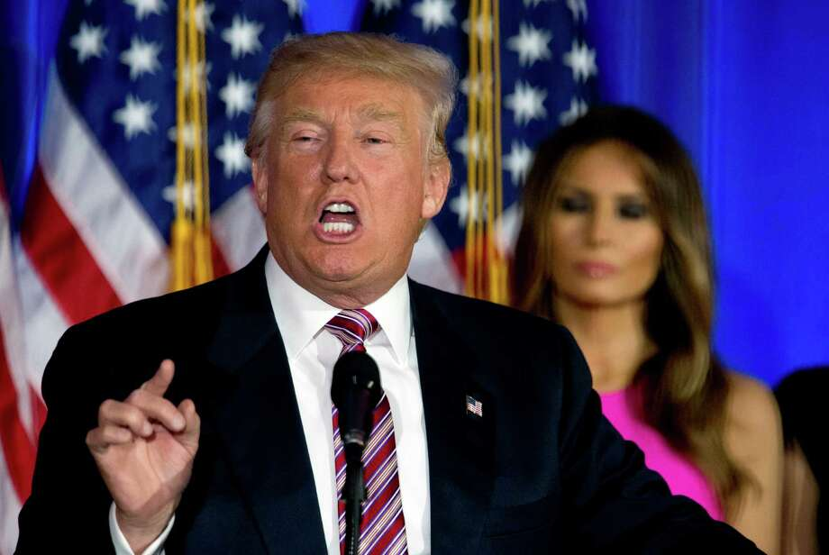 Republican presidential candidate Donald Trump is making a fundraising trip to Texas this week. Photo: Mary Altaffer, STF / Copyright 2016 The Associated Press. All rights reserved. This material may not be published, broadcast, rewritten or redistribu