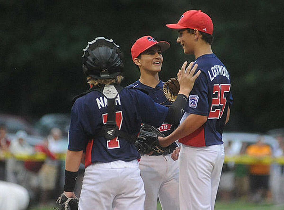 Championship game between North Stamford little league and Fairfield American. Hour photo/Matthew Vinci