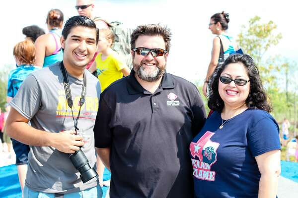 San Antonio turned out en masse for the opening of the city's newest park Saturday June 11, 2016, on the Southwest Side. Families listened speeches from civic leaders and then hit Pearsall Park's elements for an afternoon of fun.