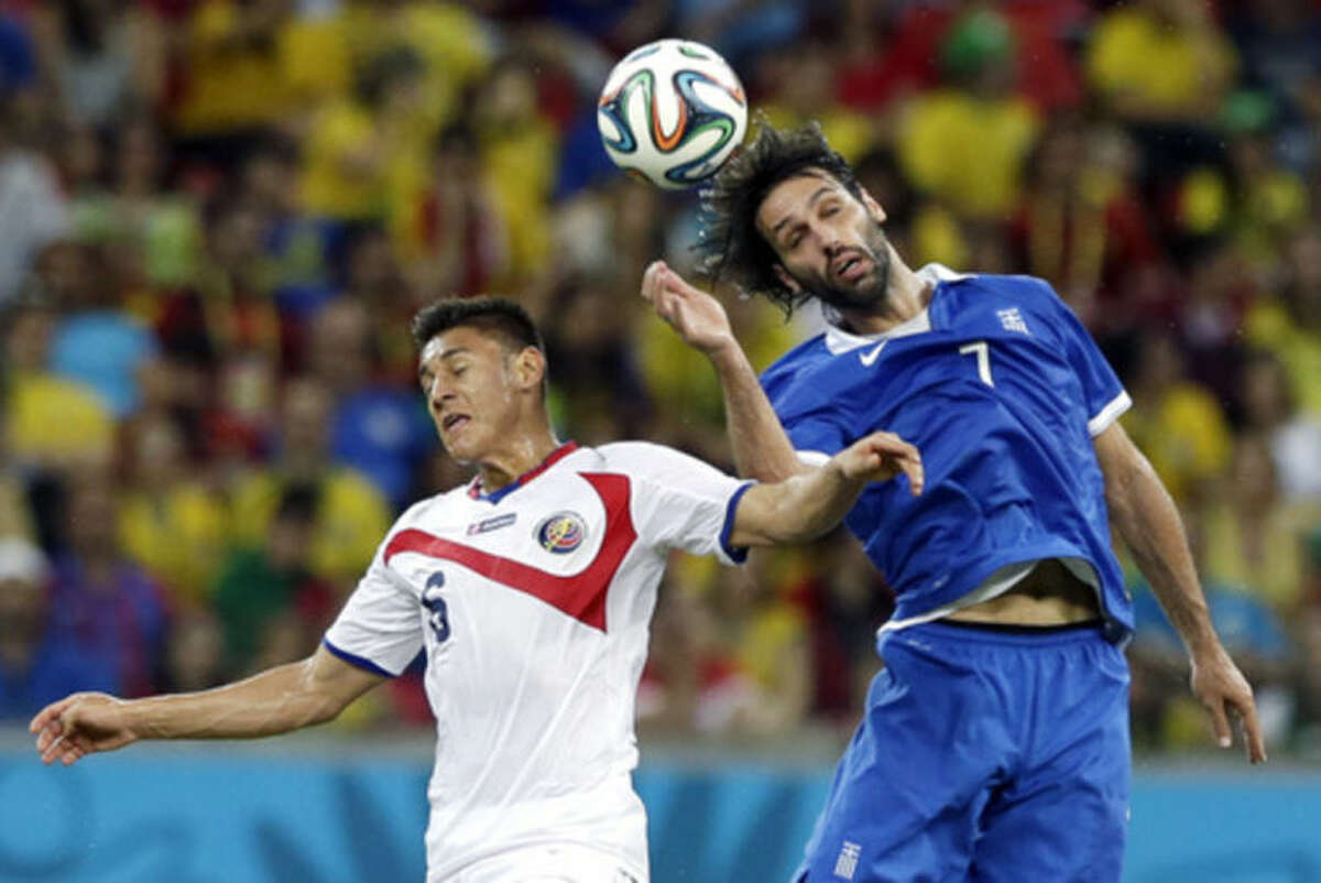 Borges is Costa Rica's lungs at World Cup