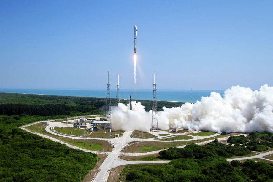 In this photo provided by the United Launch Alliance, a ULA Atlas V rocket lifts off from Cape Canaveral Air Force Station in Cape Canaveral, Fla. on Wednesday, May 20, 2015. The rocket is carrying the X-37B space plane for the U.S. Air Force as well as 10 CubeSats and the Planetary Society's LightSail Mission. (United Launch Alliance via AP) Photo: Associated Press / United Launch Alliance