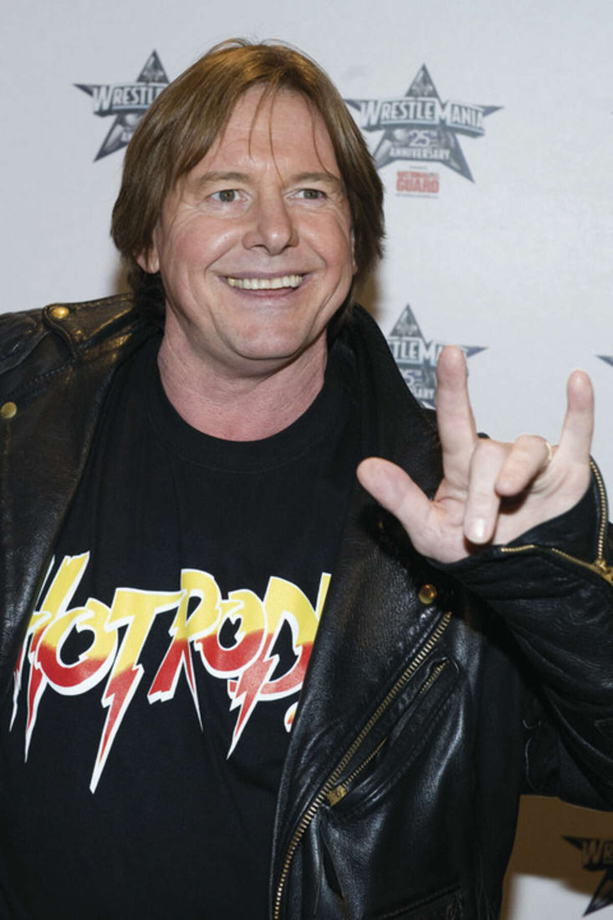 AP file photo/Charles Sykes In this March 31, 2009, file photo, former professional wrestler Roddy Piper attends the 25th Anniversary of WrestleMania press conference in New York. The WWE said Piper died Friday. He was 61.