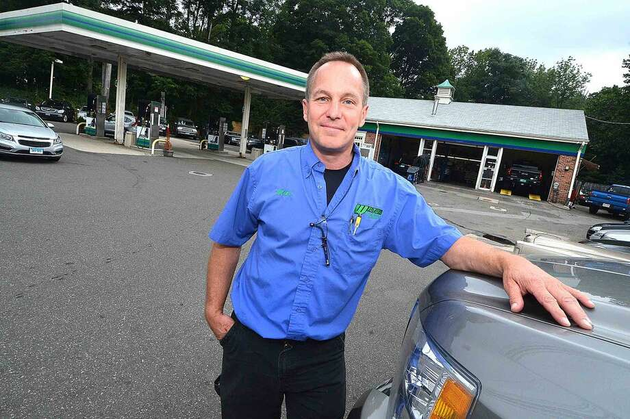 Mike Lindquist, owner of Wilton Auto & Tire Center, plans to move his business up Route 7 to the former CL&P property on Danbury Road.