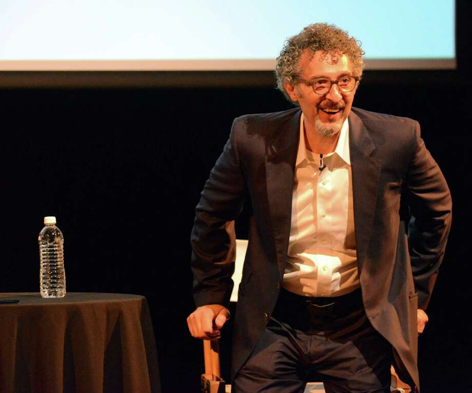 Actor John Turturro discusses his career moderator David Negrin, during the Greenwich International Film Festival Spotlight On series on June 11, 2016. The event, attended by a couple dozen festival attendees, took place at Greenwich Country Day School in Greenwich, with the proceeds from the event going to support Community Access, an organization that provides care for the mentally ill. Photo: Matthew Brown / Hearst Connecticut Media / Stamford Advocate