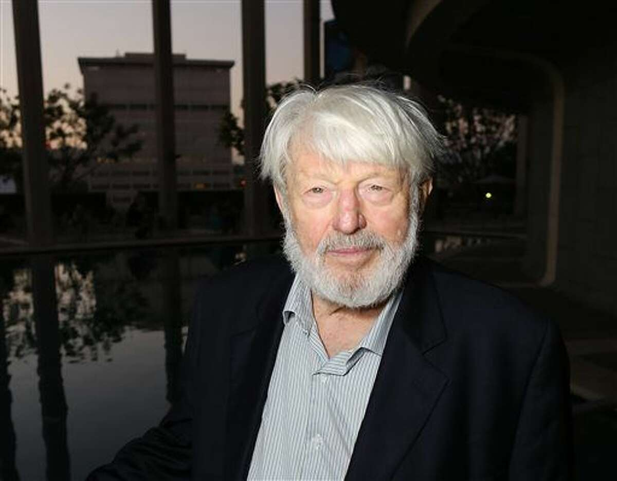 CORRECTS DATE OF DEATH TO TUESDAY, JULY 21 - In this Sept. 7, 2012 file photo, actor Theodore Bikel poses at the opening night performance of