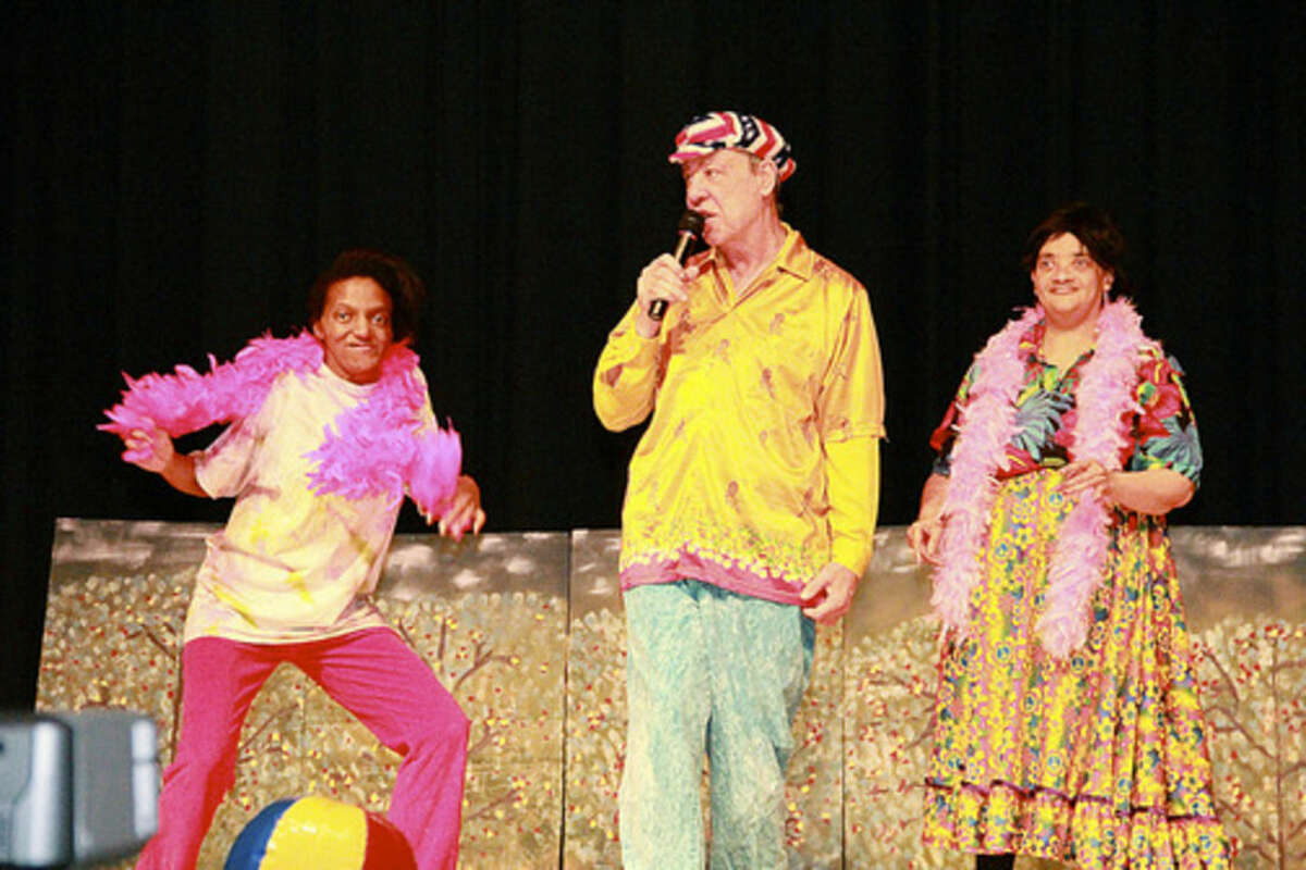 Contributed photo Norwalkers Talisha Maxwel, David Hutchins and Rena Crawford perform in a Theater of STARs show.