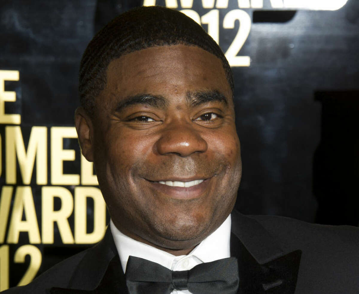 FILE - In this April 28, 2012, file photo, Tracy Morgan attends The Comedy Awards in New York. Morgan is suing Wal-Mart over the June 7, 2014, highway crash that seriously injured him and killed a fellow comedian. The lawsuit, filed Thursday, July 10, 2014, in U.S. District Court in New Jersey, claims Wal-Mart was negligent when a driver of one of its tractor-trailers rammed into Morgan?'s limousine. (AP Photo/Charles Sykes, File)
