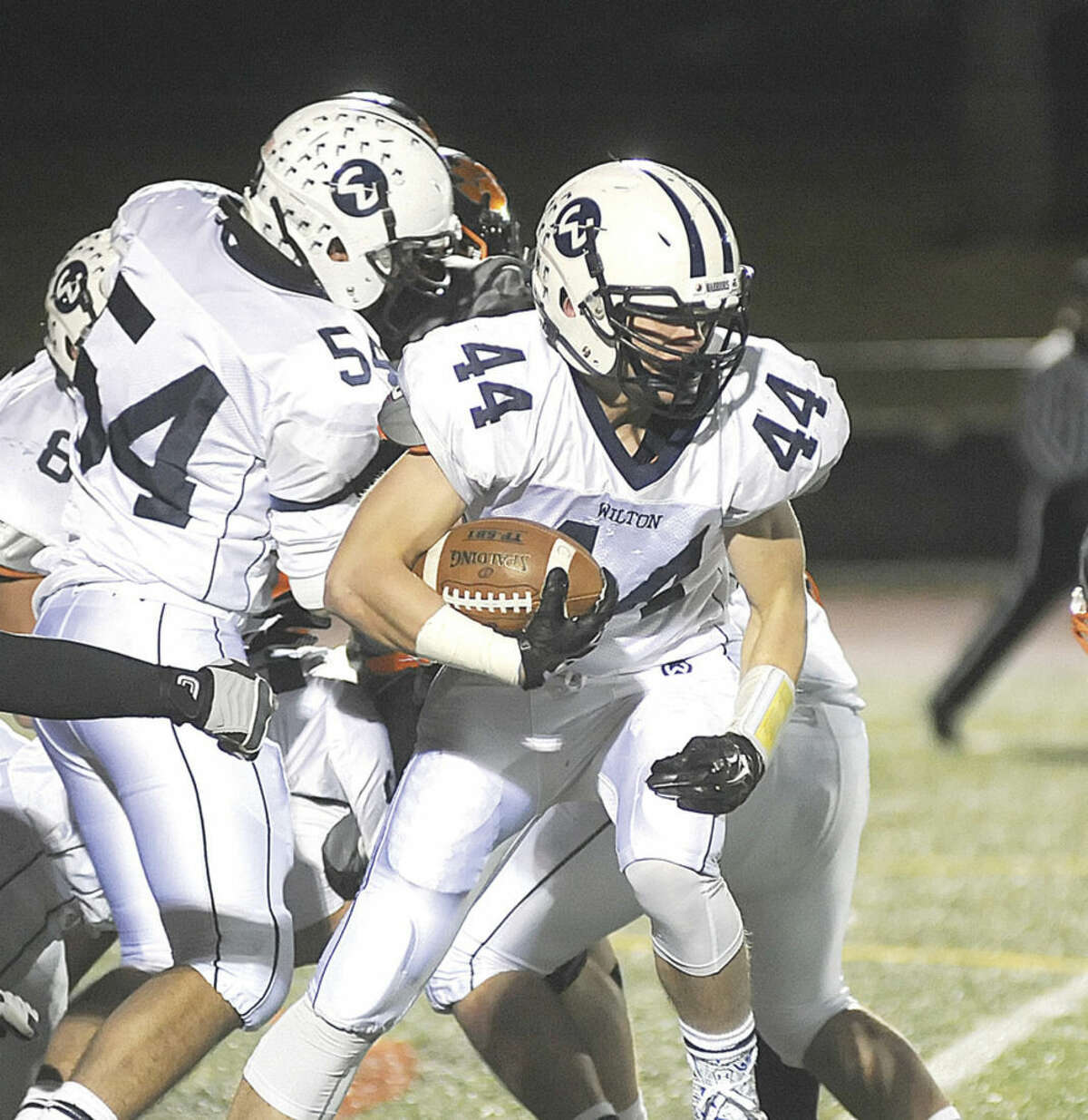 Hour photo/John Nash Wilton's Jack Dexter is going to UConn as a preferred walk on.
