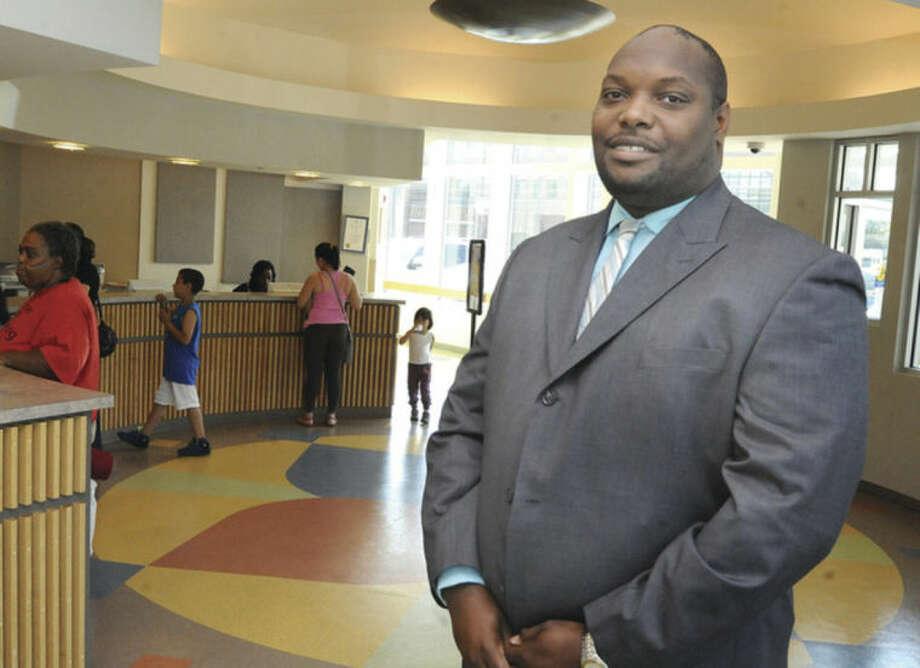 New Chief Executive at Norwalk Community Heath Center in Norwalk Craig L. Glover. Hour photo/Matthew Vinci