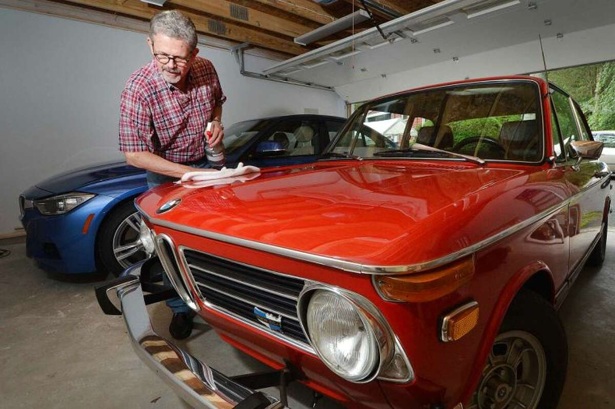 Kevin Craw details his entry for this year's Kiwanis 14th Annual Wilton Classic & Custom Car Show, an original 1973 BMW 2002, Verona red. The show will present trophies and dash plaques and feature music and food and beverages, along with fire trucks, race cars and military vehicles on display.