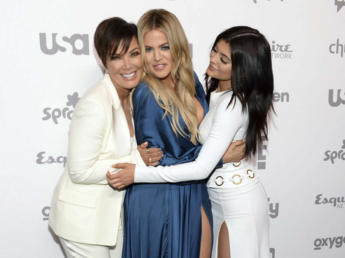 FILE - In this May 14, 2015 file photo, Kris Jenner, left, Khloe Kardashian and Kylie Jenner attend the NBCUniversal Cable Entertainment 2015 Upfront at The Javits Center, in New York. Kardashian Fatigue may not lead to a permanent exit because it can be regularly relieved by dropping one Kardashian/Jenner for another. (Photo by Evan Agostini/Invision/AP, File)