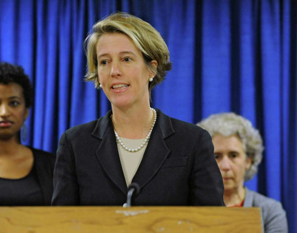 Zephyr Teachout, former gubernatorial candidate, speaks about strengthening the state's public education system rather than further its demise through privately run charter schools during a press conference at the Legislative Office Building on Wednesday, Dec. 3, 2014 in Albany, N.Y. (Lori Van Buren / Times Union)
