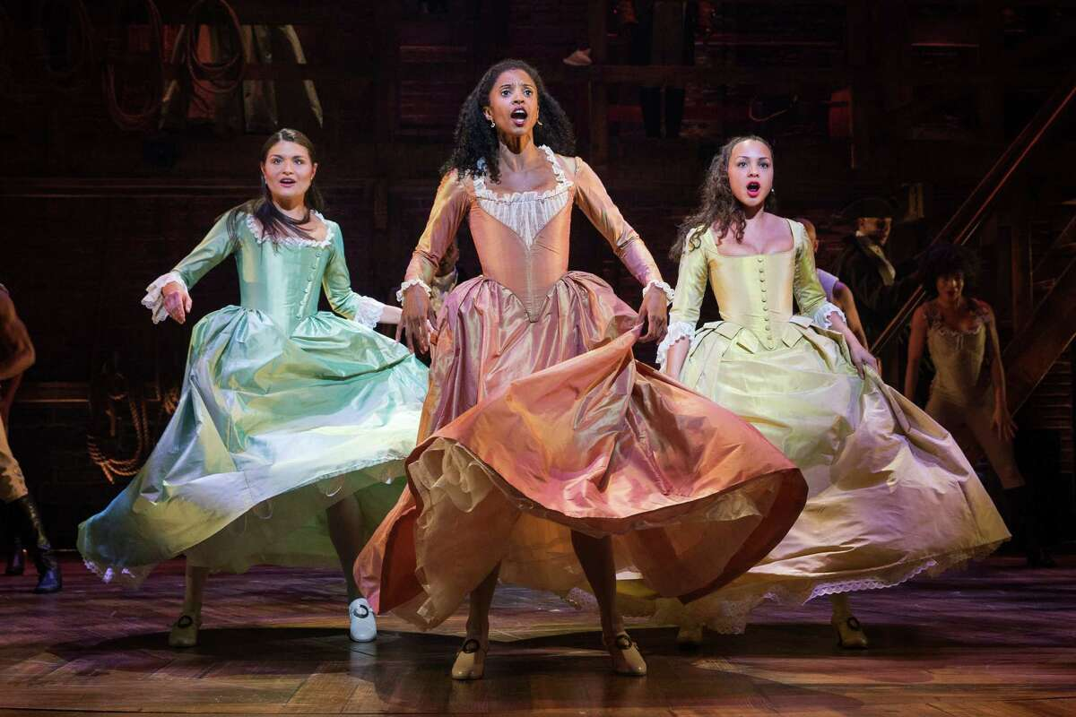 """Angelica The musical makes much of Hamilton's friendship with his wife, Eliza's, sister, Angelica Schuyler. While it's true that they were friends and the sisters did joke about """"sharing"""" him, Angelica eloped with an Englishman, John Church, in 1777 and lived in England from 1783 to 1797, when she returned to New York."""