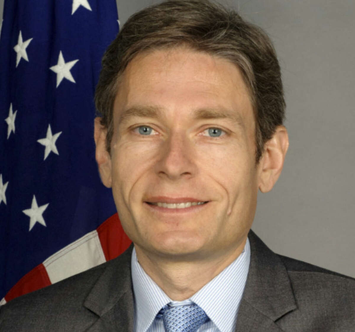 FILE - This undated photo from the U.S. State Department website shows Tom Malinowski. Malinowski, the U.S. State Department?'s top human rights official has accused Myanmar authorities of resorting to police-state tactics after five journalists got 10 years hard labor for a disputed story about a weapons factory. Malinowski's comments, in an Associated Press interview Wednesday, July 16, 2014, are the stiffest U.S. criticism yet following last week?'s sentences. The case is troubling for the Obama administration, which has cast its support of Myanmar's democratic reforms as an important foreign policy achievement. (AP Photo/U.S. State Department)