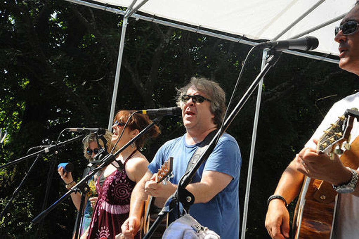 Steve Ferentzy, Third Rail + Friends perform Sunday at the SoNo Arts Festival. Hour photo/Matthew Vinci