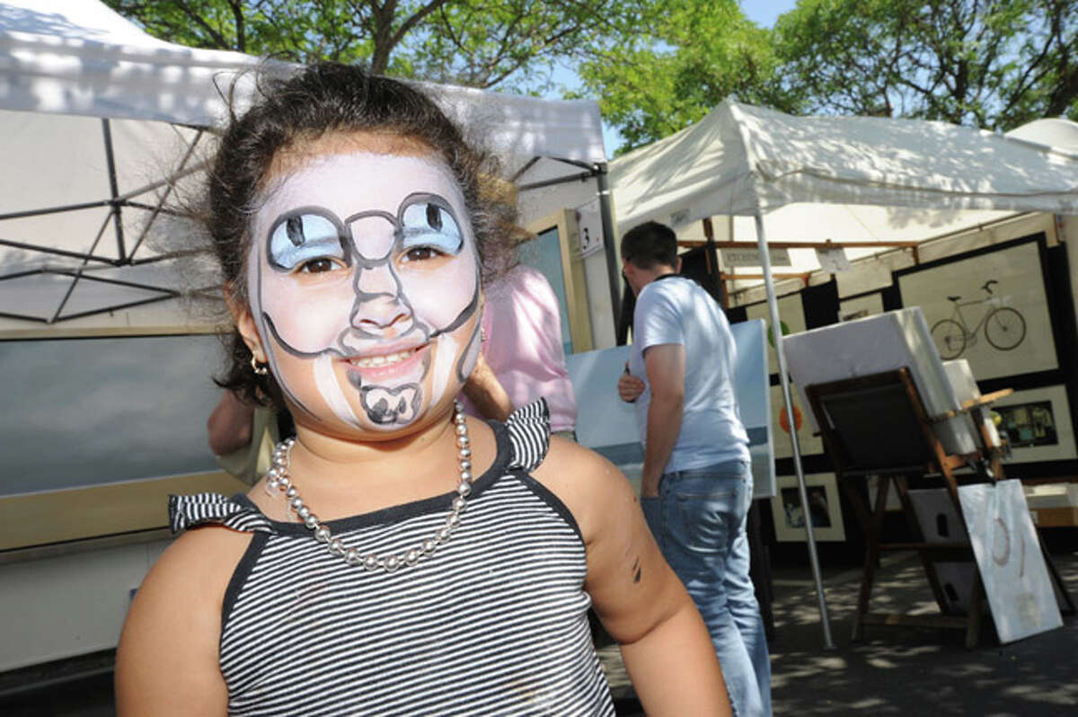 Shaina Fattalia 3, Sunday at the Westport Arts Festival. Hour photo/Matthew Vinci