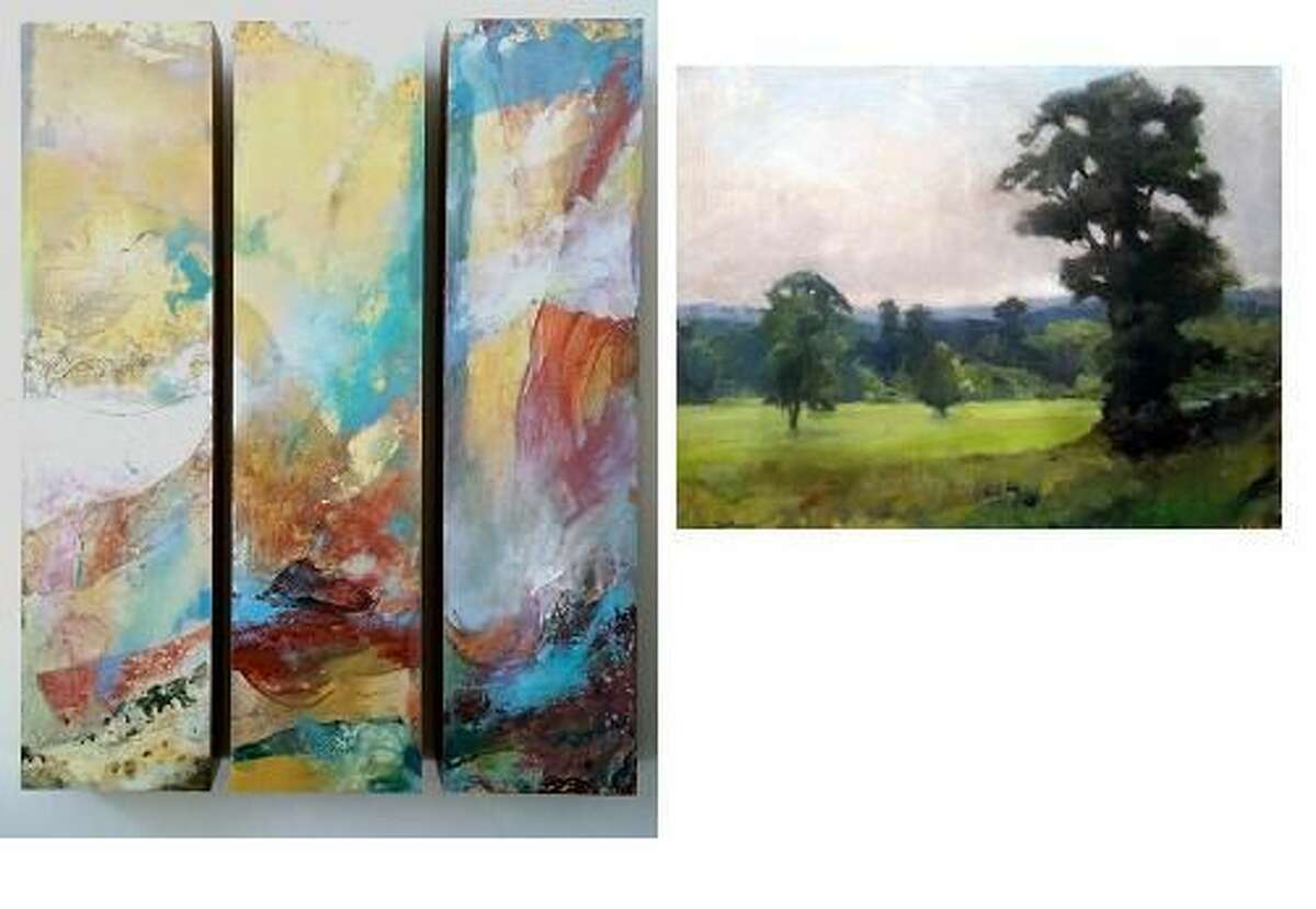 """ARTWorks: Kendall Klingbeil & Wendy Moore """"Summer Songs"""" Oils and Mixed Media Opening Reception"""