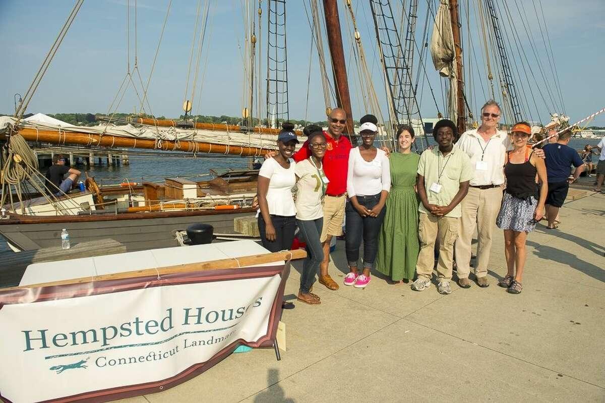 CT Landmarks' Hempsted Houses Volunteers Brings Amistad to Life at Sailfest