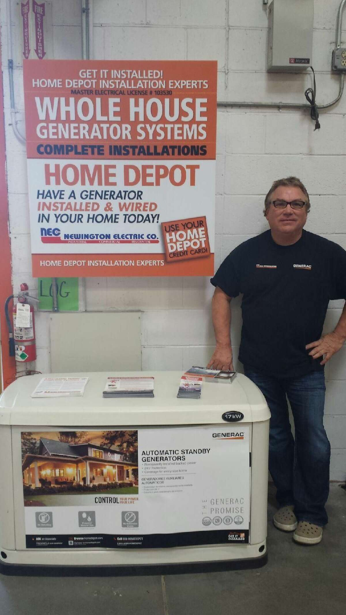CT Home Generator Named Exclusive Home Depot Generator Service Provider