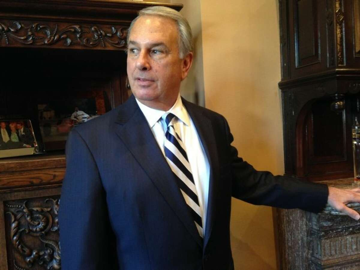 """Attorney Jonathan Schochor walks into his office in Baltimore in an undated photo. Johns Hopkins Hospital has agreed to a $190 million settlement with more than 8,000 patients of a gynecologist who secretly photographed and videotaped women?'s bodies in the examining room with a pen-like camera he wore around his neck, lawyers said Monday, July 21. 2014. ?""""All of these women were brutalized by this,?"""" said the women?'s lead attorney, Jonathan Schochor. ?""""Some of these women needed counseling, they were sleepless, they were dysfunctional in the workplace, they were dysfunctional at home, they were dysfunctional with their mates. (AP Photo/Juliet Linderman)"""