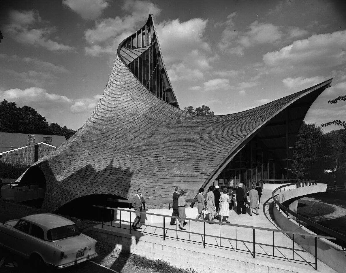 United Church of Rowayton, Joseph Salerno architect, Rowayton, CT 1962.