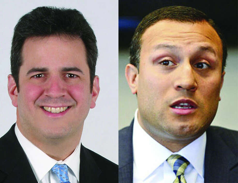State Rep. Chris Perone (D-137) and Former City Councilman Warren Peña who is running for the 140th state representative seat.