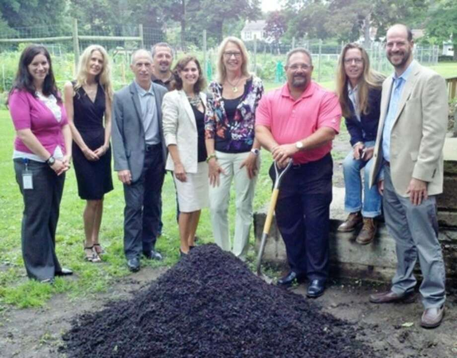 Contributed photoAttending the ceremony at Fodor Farms, from left: Theresa Argondezzi, Daphne Dixon, Anthony Terenzio, Jeff Demers, Connie DeGruttola, Amy Phillips, Mike Mocciae, Heide Hart and Jeremy Kranowitz.