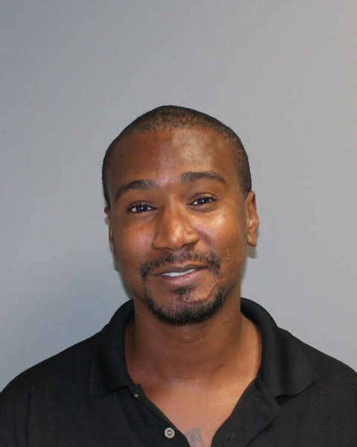 "A mugshot of Vamond ""Wooley King"" Elmore, the man wanted in connection with the slaying of Jimmy Martinez."
