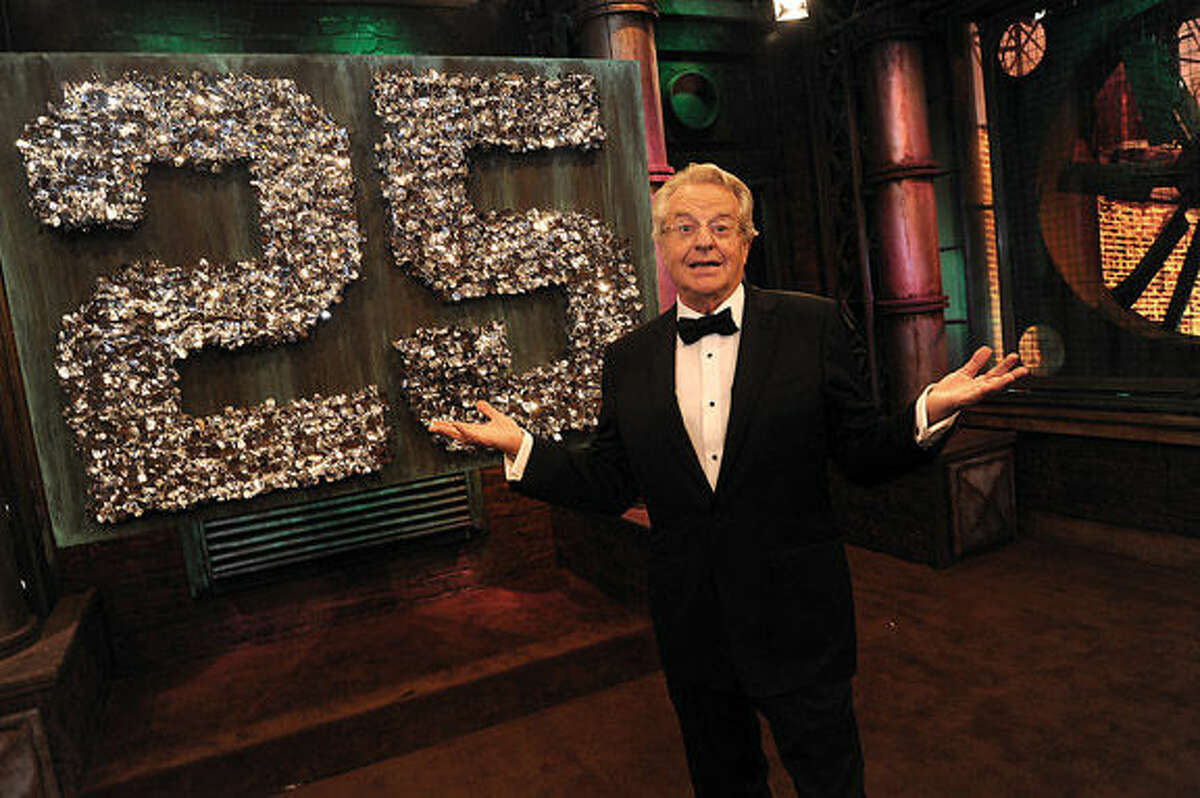 """Talk show host Jerry Springer says moving to the Stamford Media Center in 2009 gave his show new life. """"This community has been great,""""he said."""