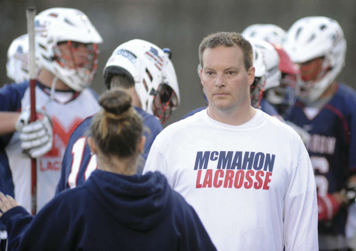 Hour photo/John Nash Former Brien McMahon boys lacrosse head coach Andy Stockfisch has stepped down.