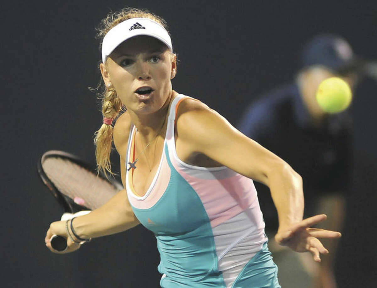 Hour photo/John Nash Four-time champ Caroline Wozniacki returns to New Haven for the seventh time this August for the newly named Connecticut Open tennis tournament.